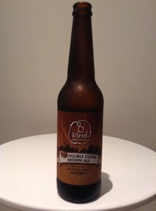 8 wired brewing co double coffee brown ale