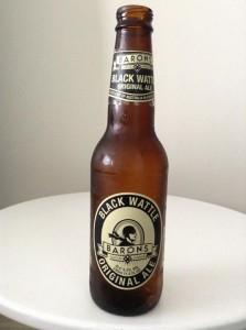 Barons black wattle ale