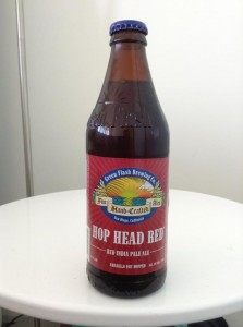 Green flash brewery hop head red red IPA