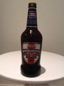 Wells bombardier English bitter ale