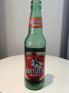 Hatuey Mexican cerveza