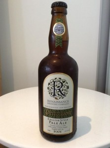 Renaissance brewing coenglish style pale ale